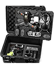 Lekufee Waterproof Hard CaseCompatible with DJI FPV Combo and More DJI FPV Drone Accessories