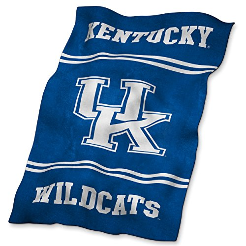 Logo Brands NCAA Kentucky Wildcats Ultrasoft Blanket ()