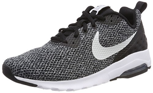 ebc3d3b29fbe59 Galleon - NIKE Men s Air Max Motion LW SE Shoe Black Pure Platinum- Dark  Grey (8.5
