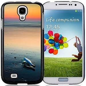 Drift Bottle Beach Hard Plastic Samsung Galaxy S4 I9500 Protective Phone Case
