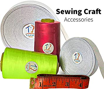 White Sewing Elastic 25 Meter Lengths Thick Elastic Ribbon Sewing Crafts Accesso