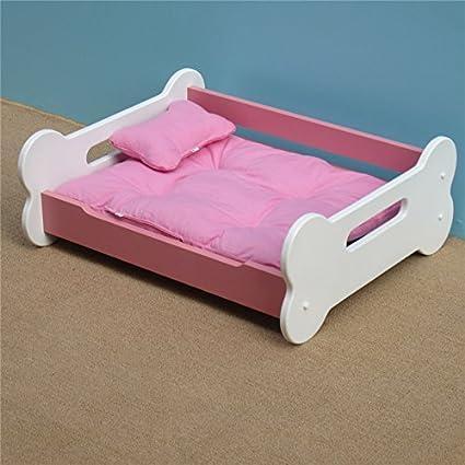 Animales del Hueso cama Lusso de madera caseta perro gato cama gato cama cucciolata Talla Grande