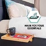 Bedside Table, Nightstand Organizer & Bed Shelf