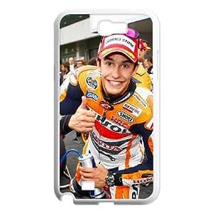 Marc Marquez Samsung Galaxy N2 7100 Cell Phone Case White MS4620018
