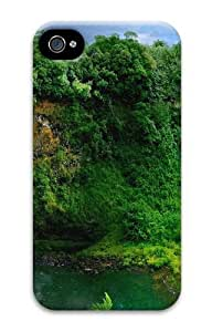 Beautiful Green Forest PC Case for iphone 4S/4