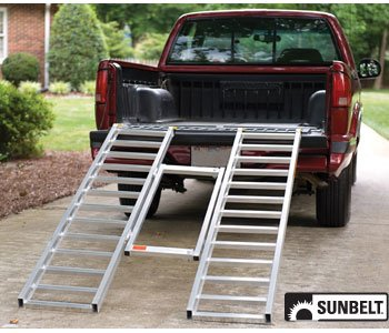- PART NO. A-B1AC307. LoadLite Ramp, Adjustable TriFold