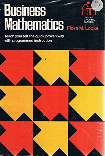 Business Mathematics (Self-teaching Guides)