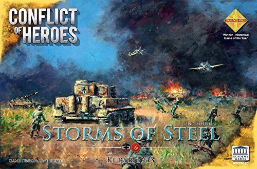 Conflict of Heroes Storms of Steel 2nd Edition Board Game