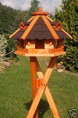 Deko Shop Hannusch Vogelhäuschen Vogelhaus Mit Bitumschindeln