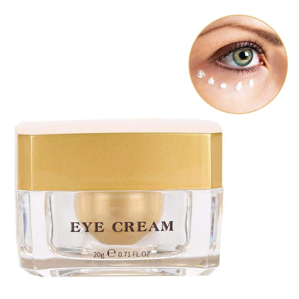 Anti Aging Cream Dark Circle Eye Cream Gold Eye Cream Eye Firming Cream for Eliminating Wrinkles Black Eye and Extra Fat Brrnoo