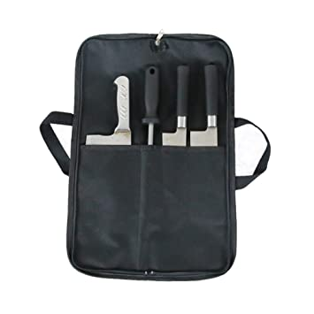 4 Pocket Chefs Knife Roll Bag Cutlery Knives Wallet Protectors Holder Suitable For The Knife BBQ