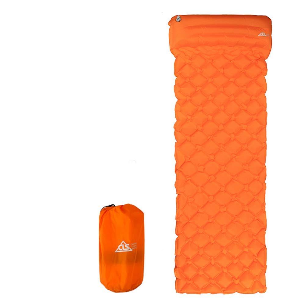 Orange  ZSN Matelas de Camping Gonflable Ultra-léger pour Matelas de Camping
