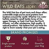 Wild Eats Water Buffalo All Natural Ear Slices Dog