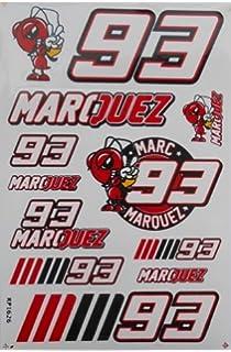 Moto Discovery Marc Marquez 93 Llavero Doble Cara: Amazon.es ...