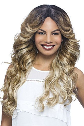 llection Glam Deep Lace Front, New Futura Synthetic Fiber Wig in Color, P4/27/30, 13.1 Ounce ()