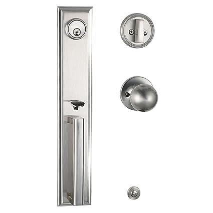 Mdhst2011 Exterior Door Handleset Double Door Entry Handleset With