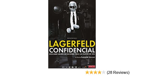 Amazon.com: Lagerfeld Confidencial (Pal/Region 2): Lagerfeld Confidencial: Movies & TV
