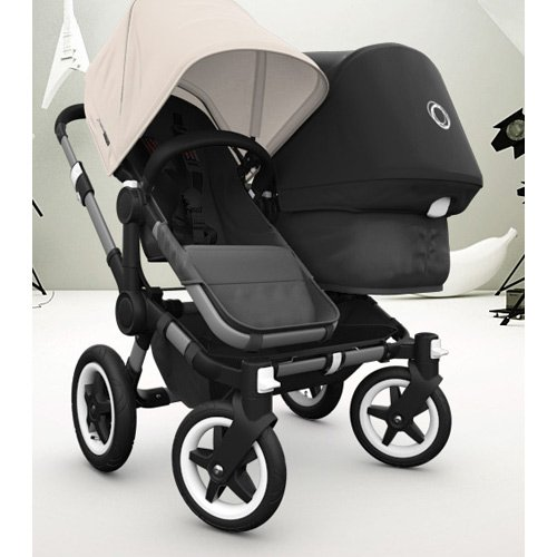 Bugaboo Donkey Sun Canopy, Off White (Discontinued by Manufacturer) 180311WH01 8717447035435