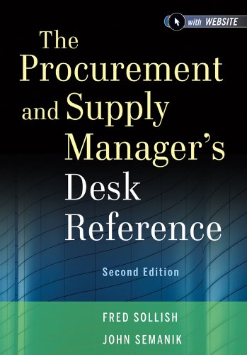Download The Procurement and Supply Manager's Desk Reference Pdf