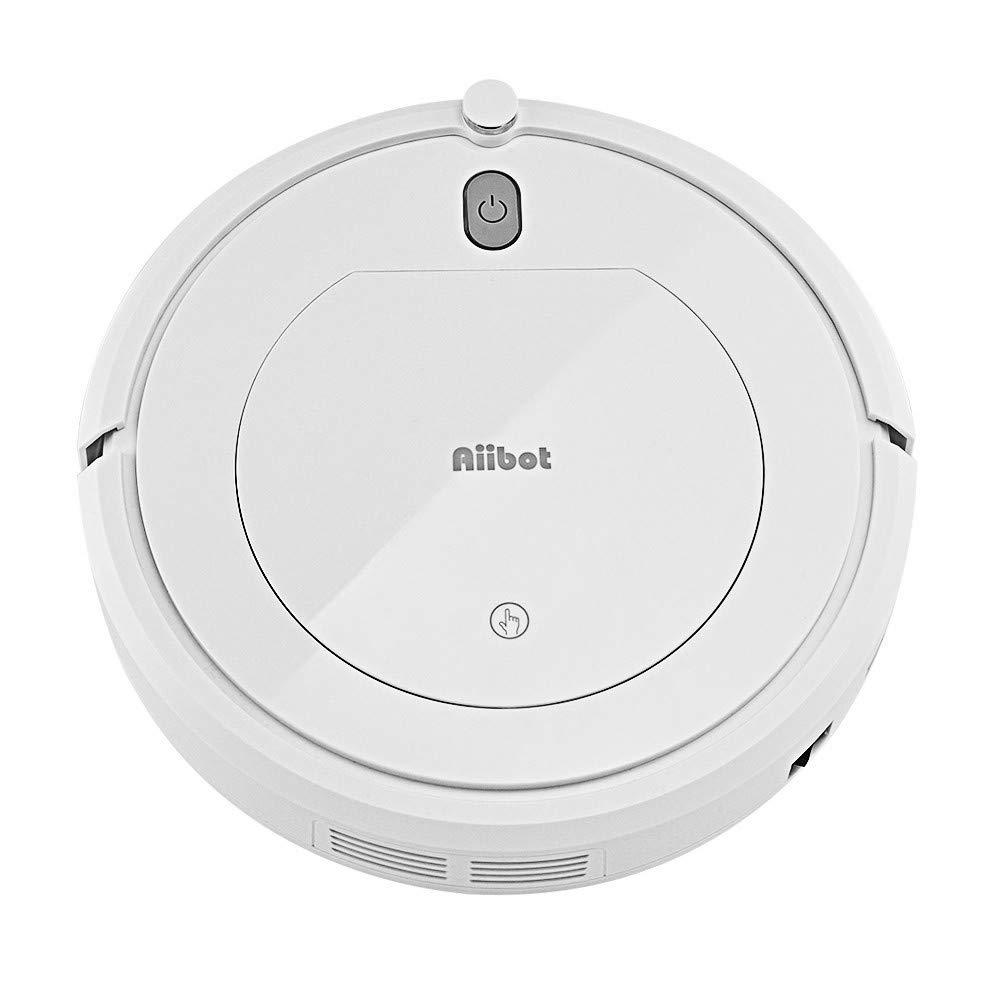 Hot! Automatic Quiet Smart Vacuum Cleaner Convenient Sweeping Robot Three Cleaning Modes Strong Suction and Power Lasting (White)