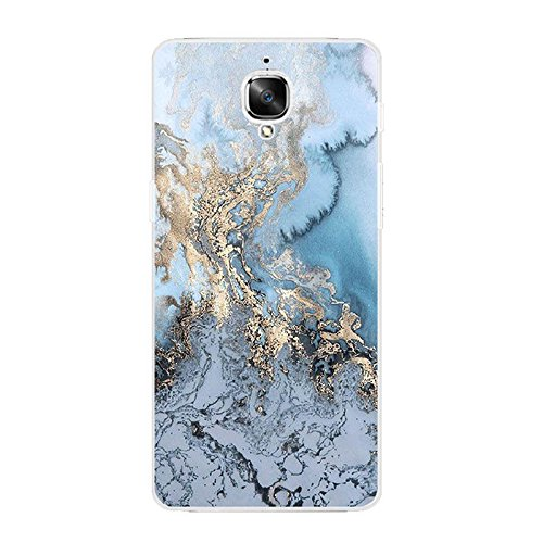 Shalleen For OnePlus 3 Soft TPU Cell Phone Case Back Cover Shell Skins Marble Printed (Lg3 Phone Case Hello Kitty)