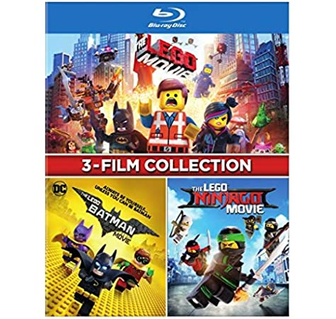 Amazon Com The Lego 3 Film Collection Bd Blu Ray Movies Tv