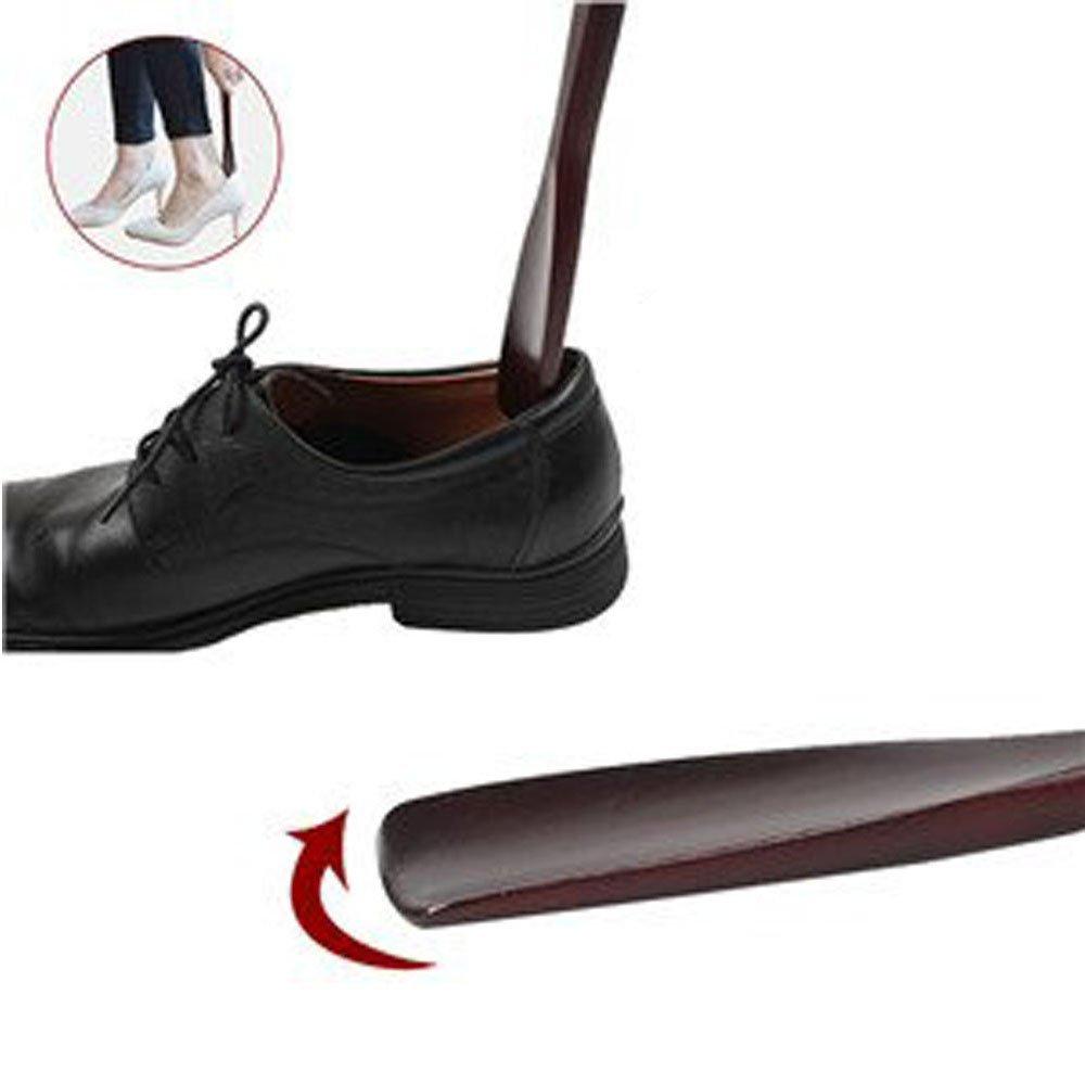 calzado deportivo y tenis MAIYADUO Calzadores de Zapatos Bocina de madera//Cuerda para colgar Bocina de madera para botas Resistente a manchas y olores
