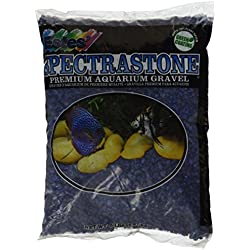 Spectrastone Special Blue Aquarium Gravel for Freshwater Aquariums, 5-Pound Bag
