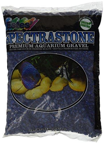 Spectrastone Special Blue Aquarium Gravel for Freshwater Aquariums, 5-Pound Bag by Spectrastone