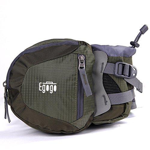 EGOGO Reisen Sport Taille Pack Fanny Pack Wandern Tasche mit Wasser Flaschenhalter