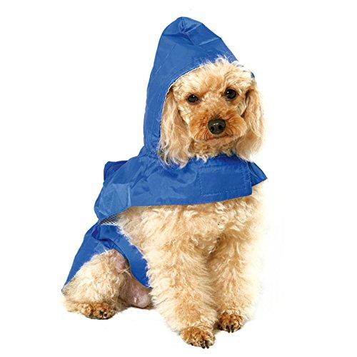 bluee XXXL bluee XXXL Dog Hoodie Rain Coat Waterproof Pet Outdoor Dust Coat Jacket Clothes bluee Size XXX-Large XXXL