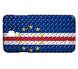Funda Carcasa para Galaxy S4 Mini Bandera CABO VERDE 05