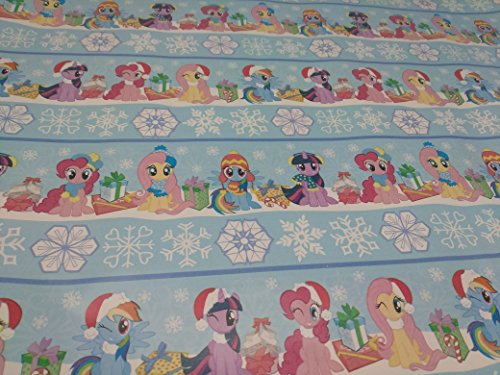 Christmas Wrapping Holiday Paper Gift Greetings 1 Roll Design Festive Wrap My Little Pony Snow