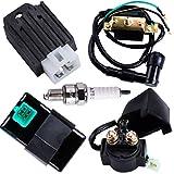 CNCMOTOK CDI Box Ignition Coil 5 Pin Regulator