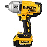 """DEWALT DCF899M1 20V MAX XR Brushless High Torque Impact Wrench with Dentent Pin Anvil, 1/2"""""""