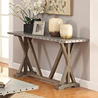 Coaster 703749 Home Furnishings Sofa Table, Driftwood