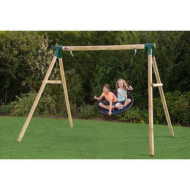 Plum Spider Monkey II Wooden Garden Swing Set By PlumÂ