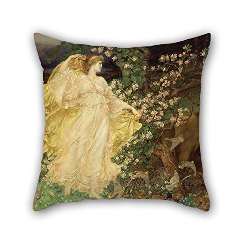 beeyoo The Oil Painting William Blake Richmond - Venus and Anchises Pillow Covers of 16 X 16 inches / 40 by 40 cm Decoration Gift for Chair Car Club Christmas -