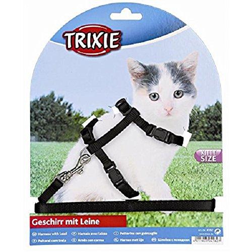 Trixie 4182 Kätzchen-Garnitur, Kätzchen/kleine Katzen, Nylon, 19-31 cm/8 mm
