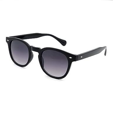 383db88e161 Sunglasses KISS - style MOSCOT mod. DEPP Smoke Gradient - VINTAGE Johnny  Depp man woman CULT unisex - BLACK  Amazon.co.uk  Clothing