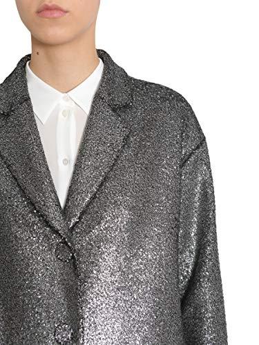 Boutique Femme Acrylique A0619 Manteau Argent 61181610 Moschino aar8qZ