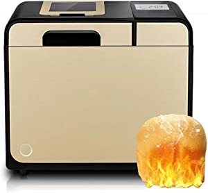 N/ A Bread Machine Household Automatic Intelligent Bread Machine 10 Minutes Breakpoint Memory Mute Multifunctional Small Kneading Fermentation Breakfast Machine