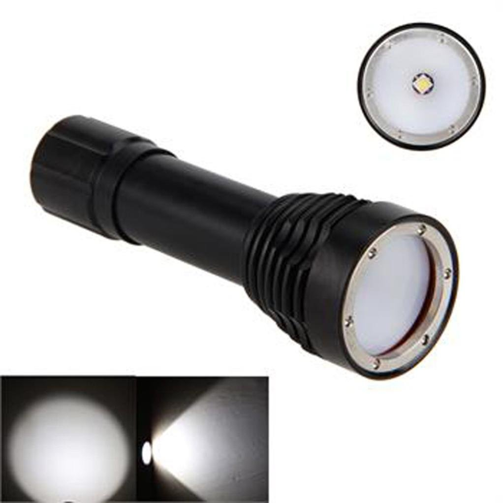 Linterna LED, Xinan 5000lm XM-L2 Buceo Fotografía Submarino Video LED Linterna Antorcha Negro Xinantime Xinantime_3439