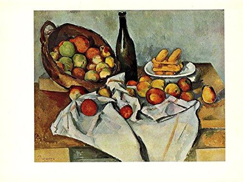 Cezanne Basket Of Apples (1963 Vintage CEZANNE