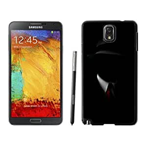 NEW Unique Designed Samsung Galaxy Note 3 Phone Case With Shadow Man Black Suit Hat Red Tie_Black Phone Case