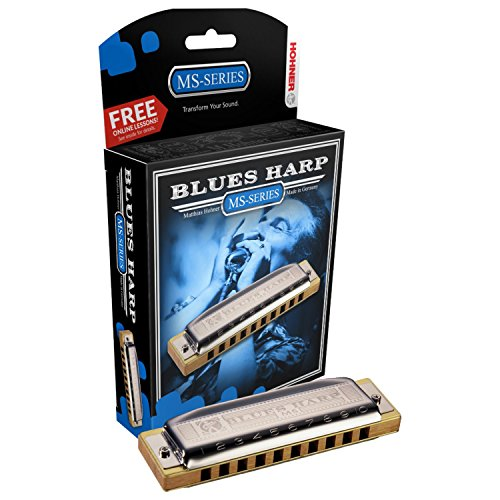 Hohner Blues Harp Harmonica, Key of G