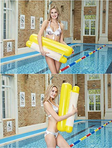 Cozywind Hamac Gonflable Piscine Lit Flottant Gonflable Hamac d/'Eau Piscine Flotteur Chaise Longue Gonflable pour L/'/ét/é Hamac Piscine Flottant pour Adultes