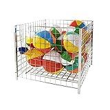 Econoco GTC36/C Grid Dump Bin, Square, 36''