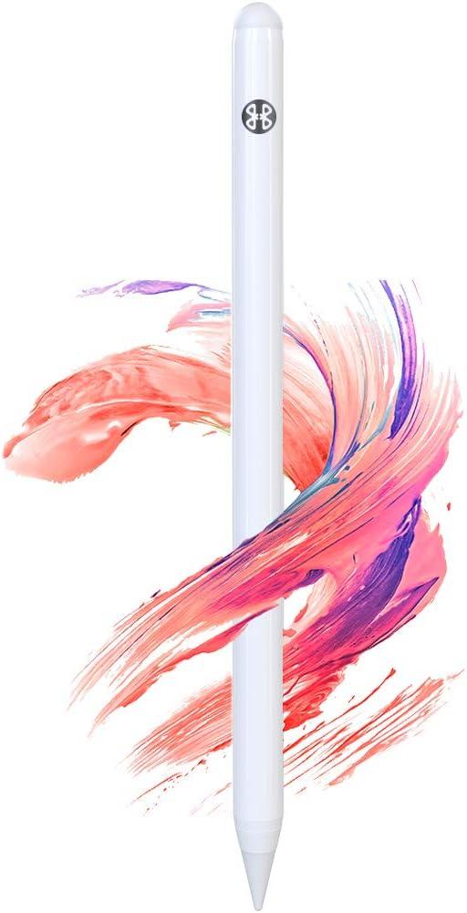 Mees Lápiz táctil para iPad 2018 y 2020 con rechazo de la palma, punta fina de 1 mm, lápiz para iPad de alta precisión para dibujar y escribir
