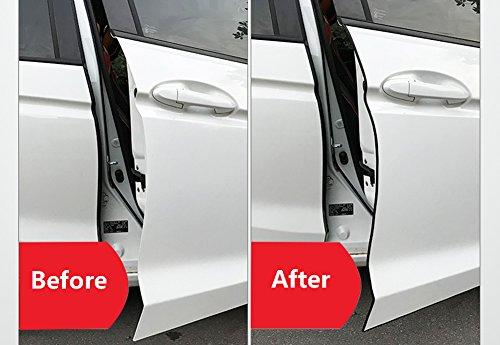 Car Door Edge Guards Trim Rubber Seal Protector Guard Strip Car Protection Door Edge Anti Collision Strip